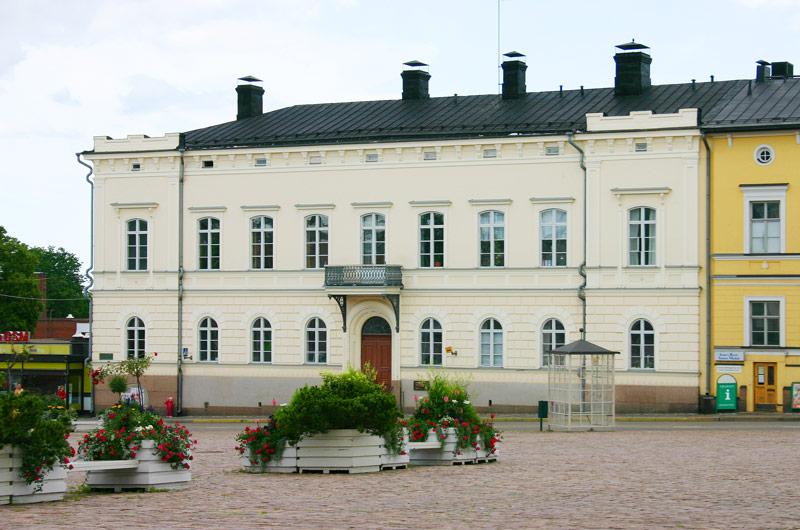 AV i Lovisas samlingsplats Forum.
