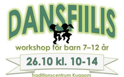 Dansfiilis – workshopar för barn